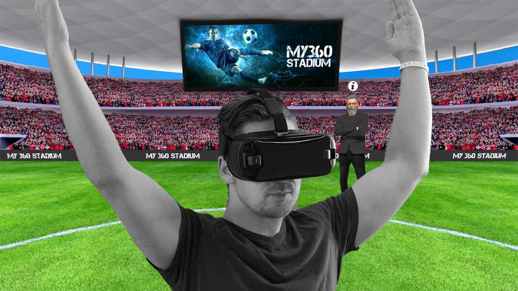 За първи път в България - Футболни Прогнози във Виртуална VR среда! Добре дошли в бъдещето!