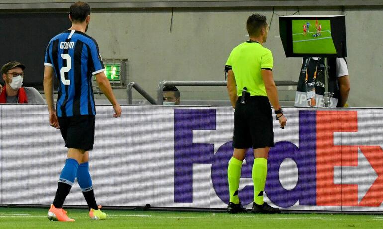 ВАР вилня по терените на Лига Европа. Интер и Юнайтед продължават напред.
