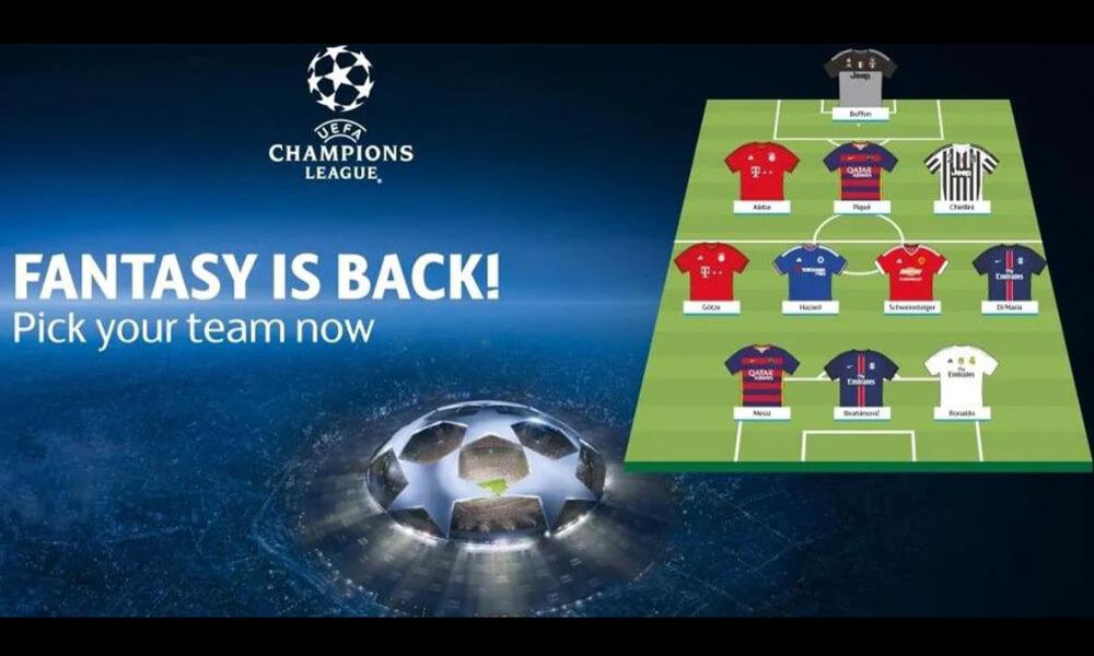 Играта на Уефа Фентъзи Футбол Шампионска лига се завръща!